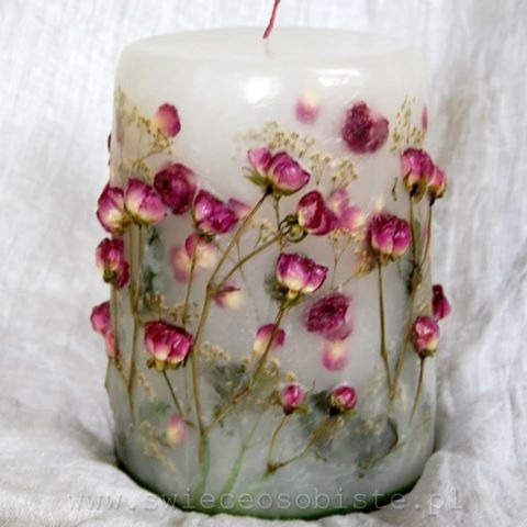 Красивые свечи мастер класс
