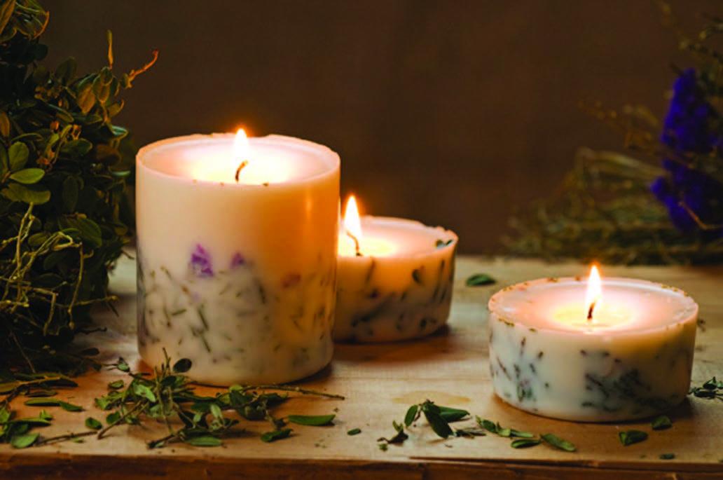 Ароматические свечи своими руками мастер класс
