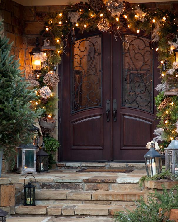 оформление входной дверью