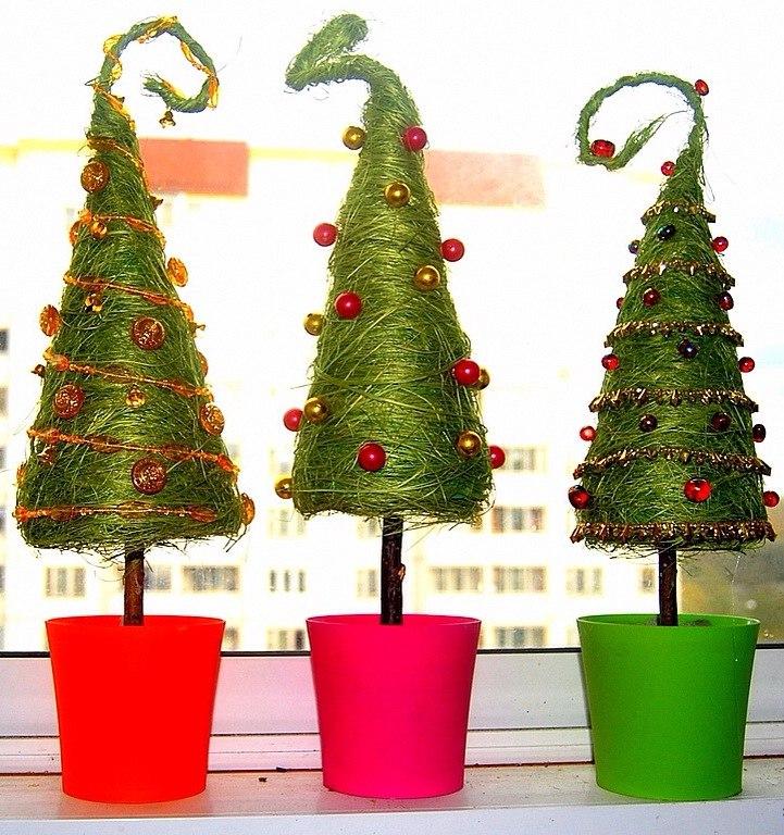 Топиарии своими руками новогодняя елка