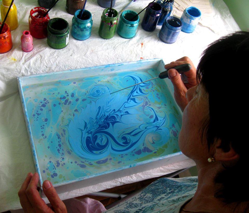 Краска для эбру своими руками 605