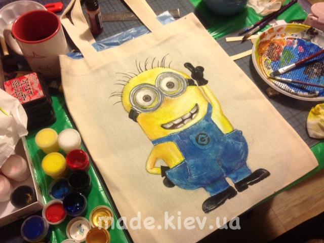 Купить сумку дизайнерскую с ручной росписью в Киеве