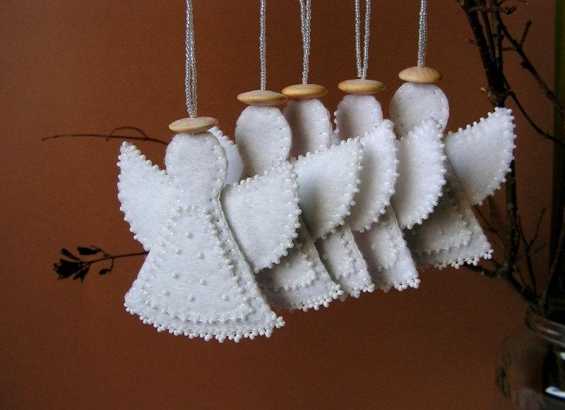 Как сделать ангела своими руками из фетра